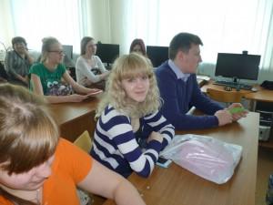 Победительница олимпиады – ученица школы № 5 Ирина Уточникова